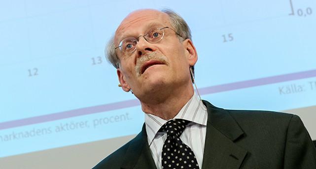 Stefan Ingves är chef för Sveriges riksbank