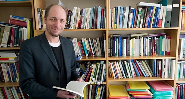 Ludvig Beckman på Stockholms universitet.