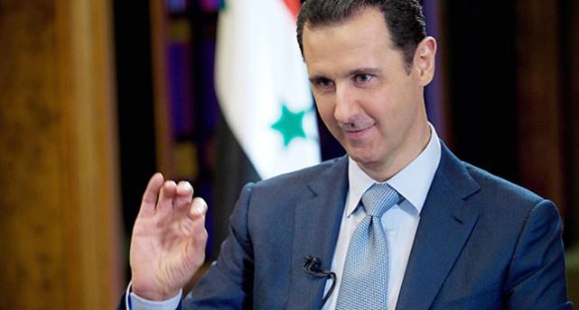 Syriens ledare Bashar al-Assad.