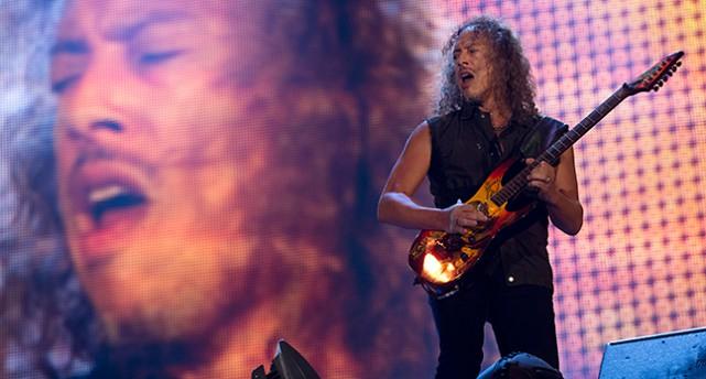 Kirk Hammet i gruppen Metallica