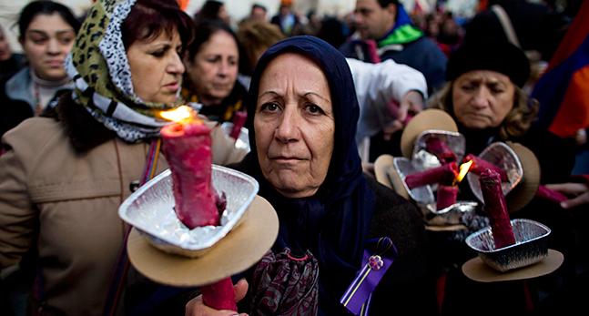 APTOPIX Mideast Israel Armenia
