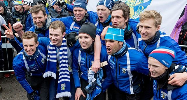IFK Göteborgs lag vann tävlingen tiomila
