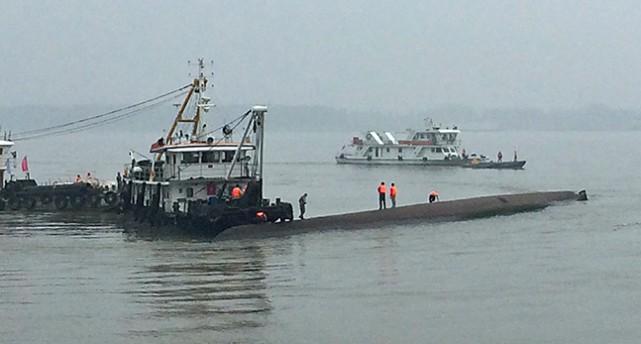 Räddningsbåt i Kina.