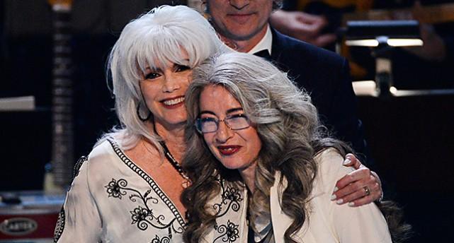 Emmylou Harris och Evelyn Glennie