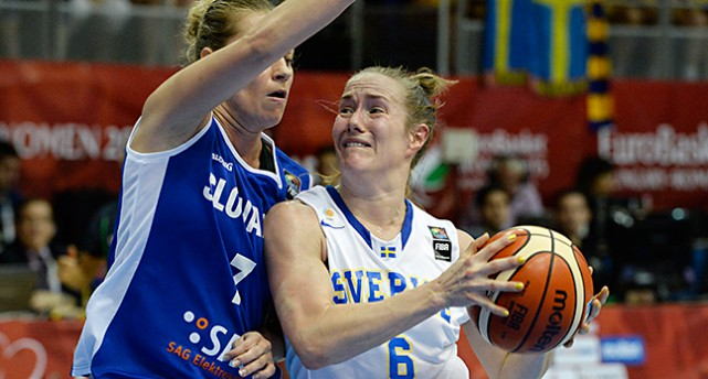 Basketspelaren Frida Eldebrink.