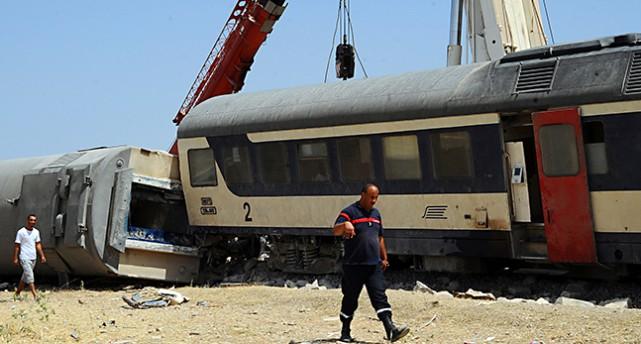 Ett kraschat tåg