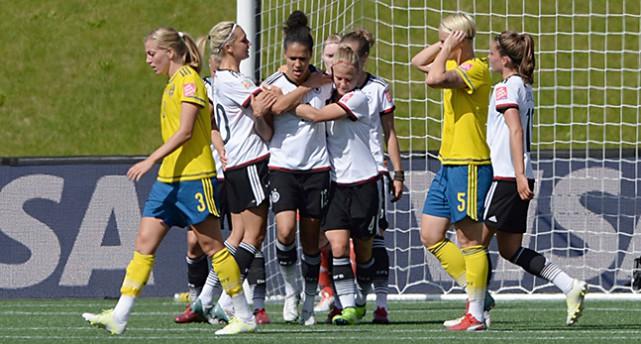 Sveriges damer förlorade åttondelsfinalen mot Tyskland i fotbolls-VM.Foto: TT