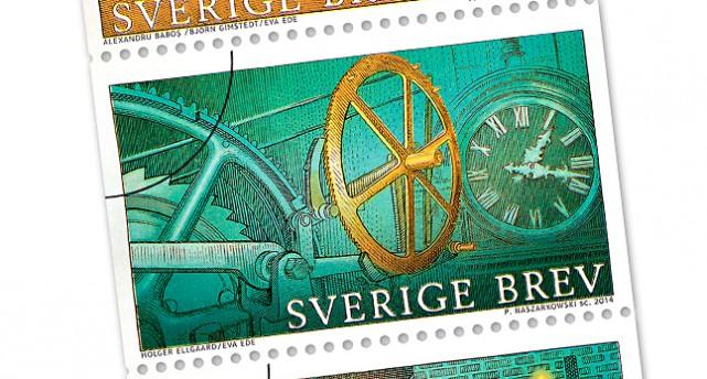 Ett frimärke