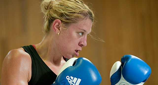 Boxaren Anna Laurell Nash.