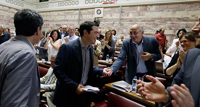 Greklands ledare Alexis Tsipras.