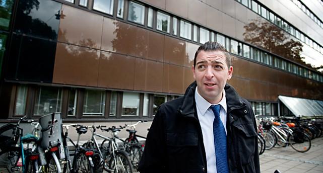 Roger Haddad i Folkpartiet.
