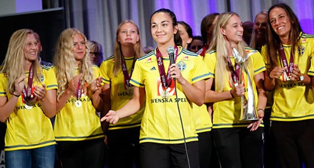 Sveriges guldlag i fotboll