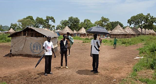 Flyktingar från Sydsudan