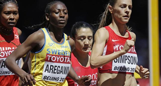 Aregawi missade medalj