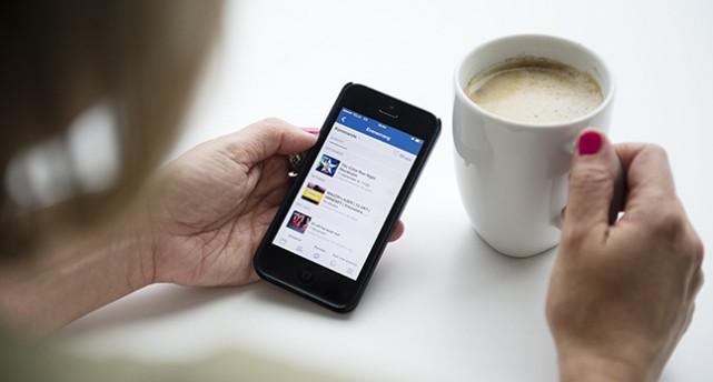 Mobil med Facebook