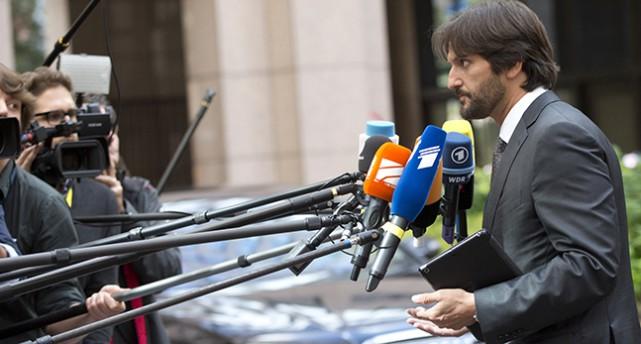 Slovakiens migrationsminister Robert Kalinak.