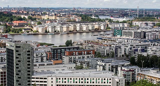 Utsikt över Stockholm