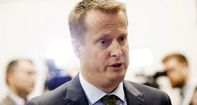 Porträtt på Anders Ygeman