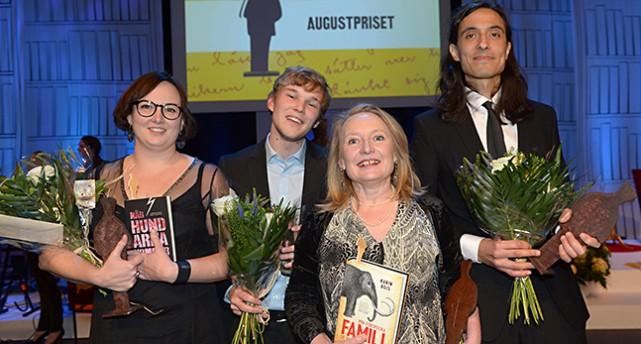 Vinnarna av årets Augustpriser.