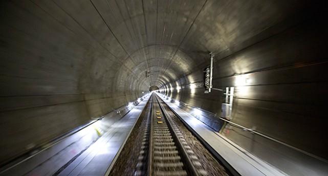Ny tunnel genom Hallandsåsen.