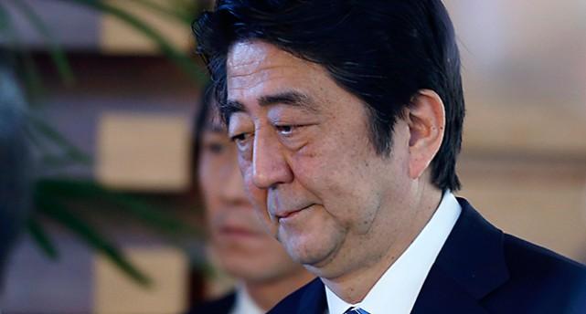 Porträtt på en ledsen premiärminister