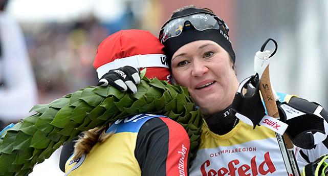 Britta Johansson Norgren och Katerina Smutna.