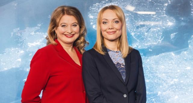 Anna Olsdotter Armar och Andrea Hökerberg