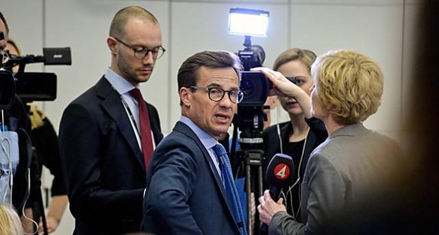 Ulf Kristersson från partiet Moderaterna
