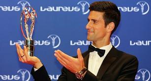 Tennisspelaren Novak Djokovic