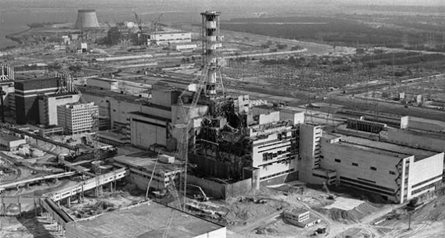 Kärnkraftverket i Tjernobyl