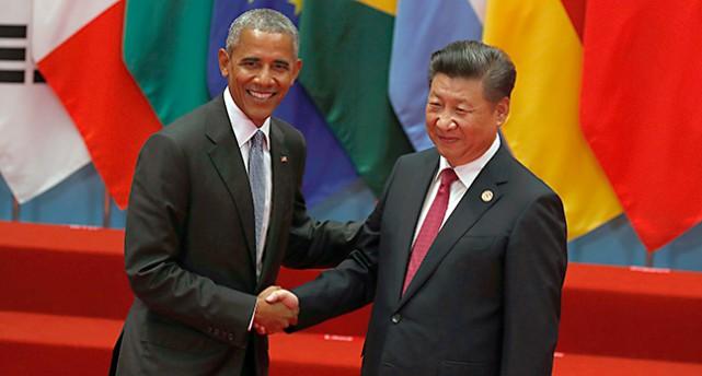 USAs president Barack Obama och Kinas ledare Xi Jinping