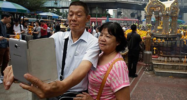 Turister i Bangkok