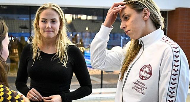 Michelle Coleman och Jennie Johansson