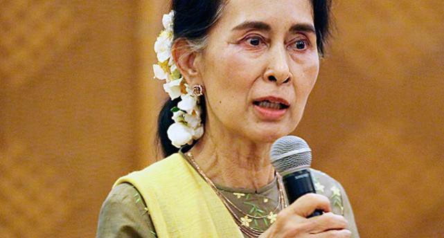 Burmas ledare Aung San Suu Ky