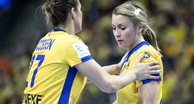 Sabina Jocobsen och Isabella Gulldén.