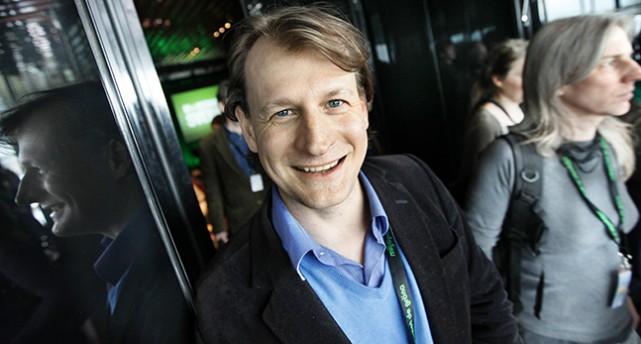 Miljöpartisten Carl Schlyter.