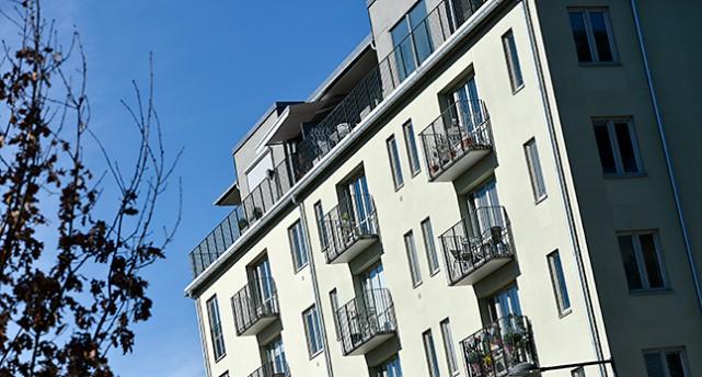 Ett hus med många lägenheter