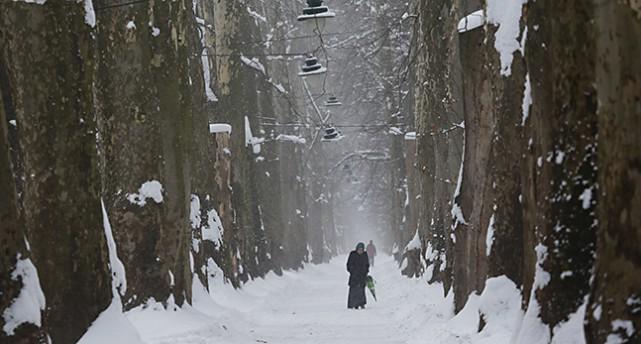 Snö och kyla