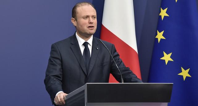 Maltas ledare Joseph Muscat