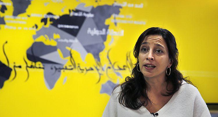 Lynn Maalouf i Amnesty