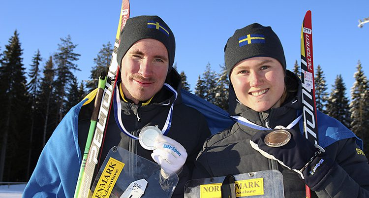 Ulrik Nordberg och Frida Sandberg