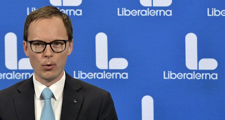 Mats Persson i partiet Liberalern