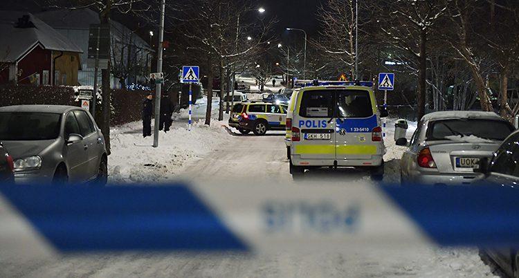 poliser i Kista