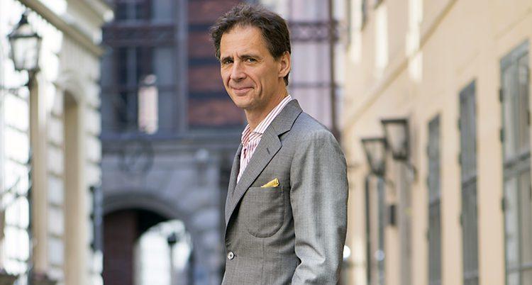 Författaren David Lagercrantz