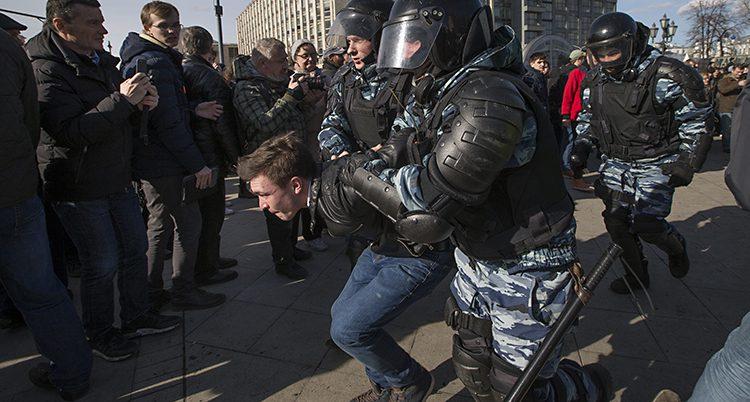 Ryska poliser