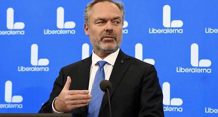 Liberalernas ledare Jan Björklund