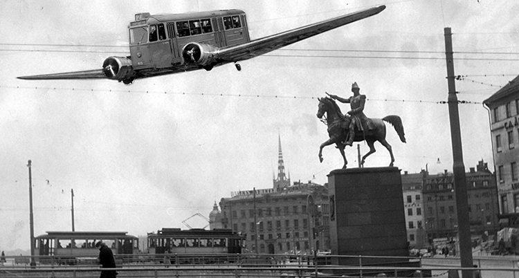 flygande spårvagn