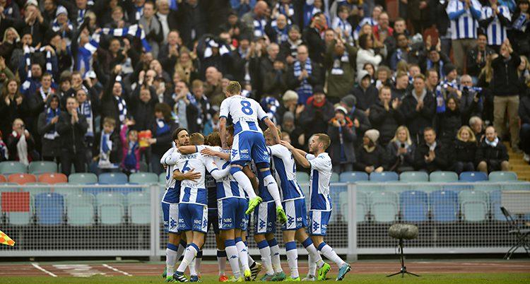 IFK Göteborg firar mål