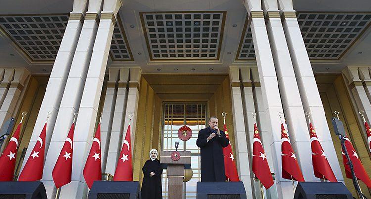 Turkiets ledare Erdogan