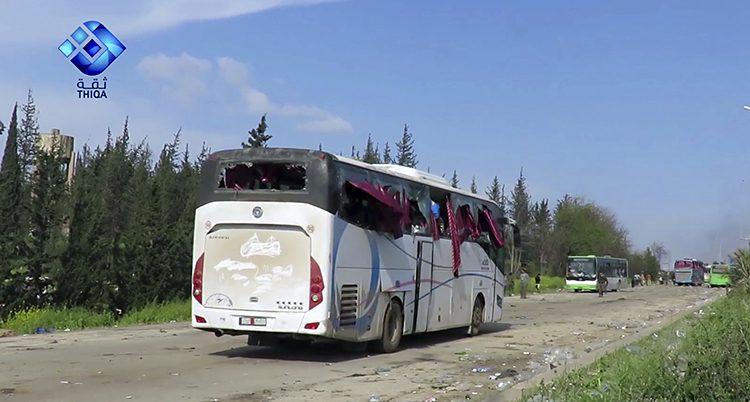 bussar i Syrien
